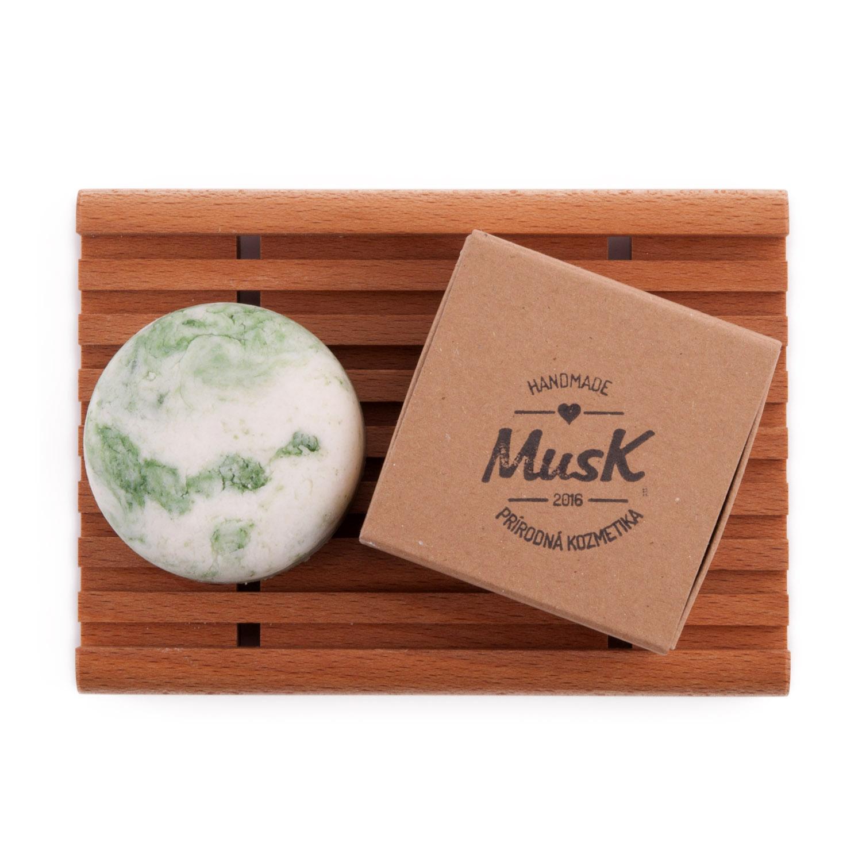 Musk tuhý šampón prírodný, handmade