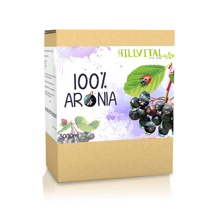 HillVital - Prírodná šťava - Arónia, 3l