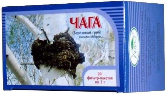 Čaga - čaj z brezovej huby 20x2g
