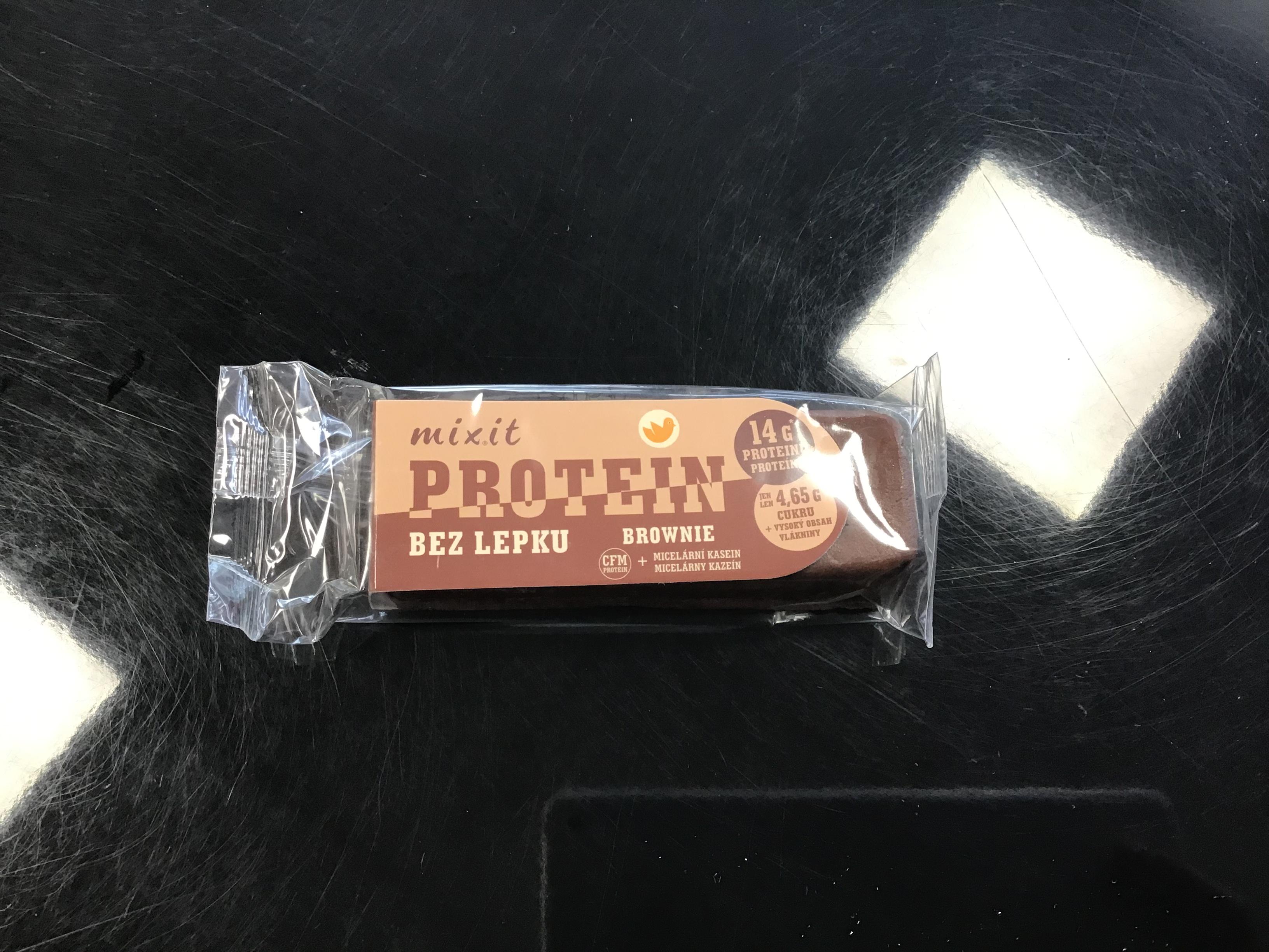 Mixit Tyčinka Proteín Brownie bez lepku 50g