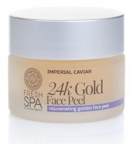 Imperial Caviar pleťový peeling 24K zlato