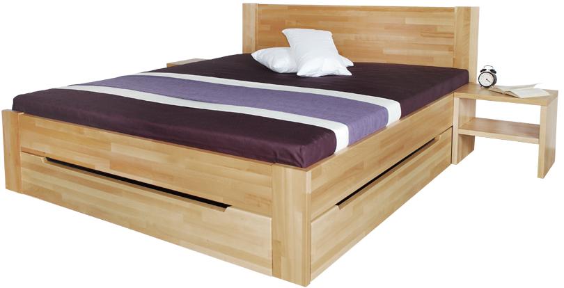 ÚP ZÁSUVKA, úložný priestor pre postele 180×200 cm – 2 ks