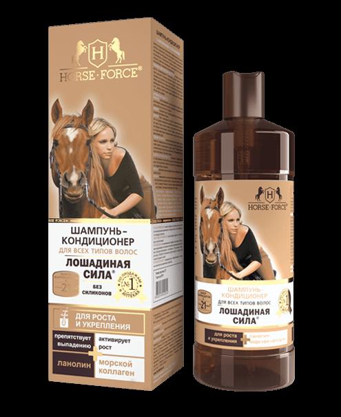 Horse Force šampón na rast a posilnenie vlasov 250ml
