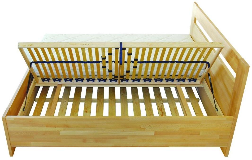 Integra úložny priestor k masívnym bukovým posteliam 180×200 cm