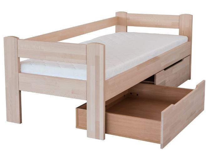 Persia posteľ z bukového dreva