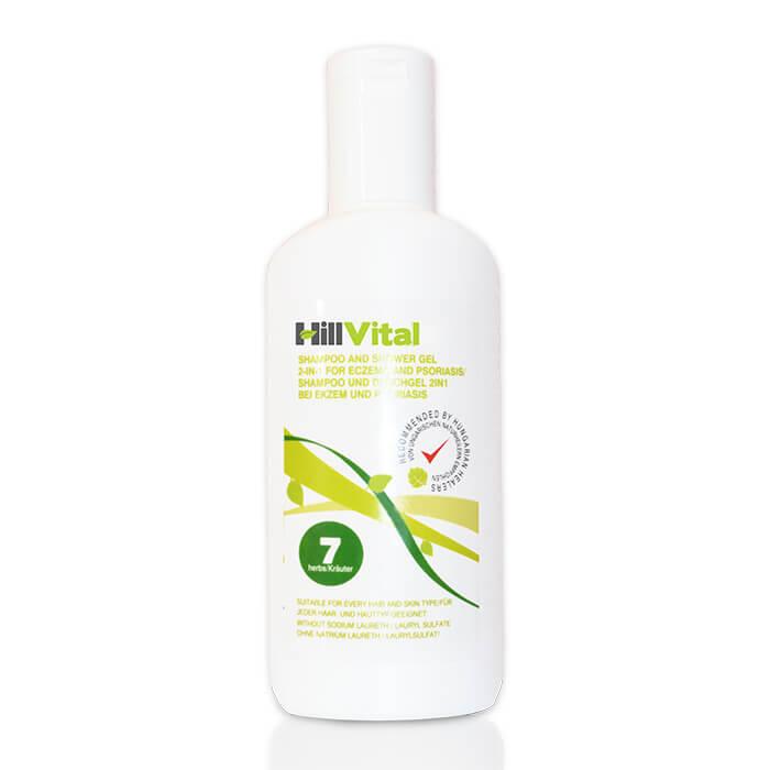 Hillvital - Šampón na seboreu vo vlasoch, 250 ml