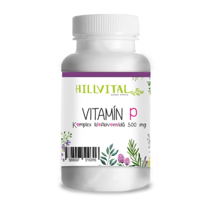 HillVital - Vitamín P -  bioflavonoidy na kŕčové žily , 60 ks