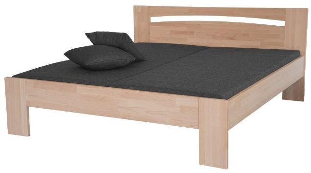 LEVIA posteľ, bukové drevo