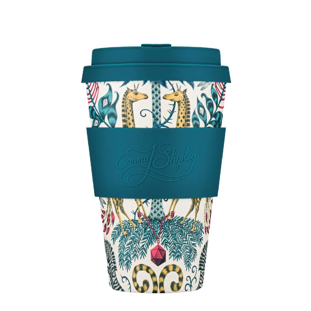 Ecoffee cup Kruger Emma. J. Shipley bambusový pohár 400ml